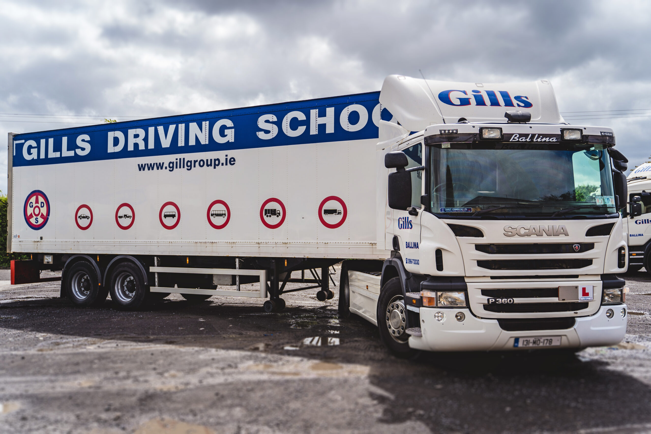 Gills Artic Driving School Ballina Mayo