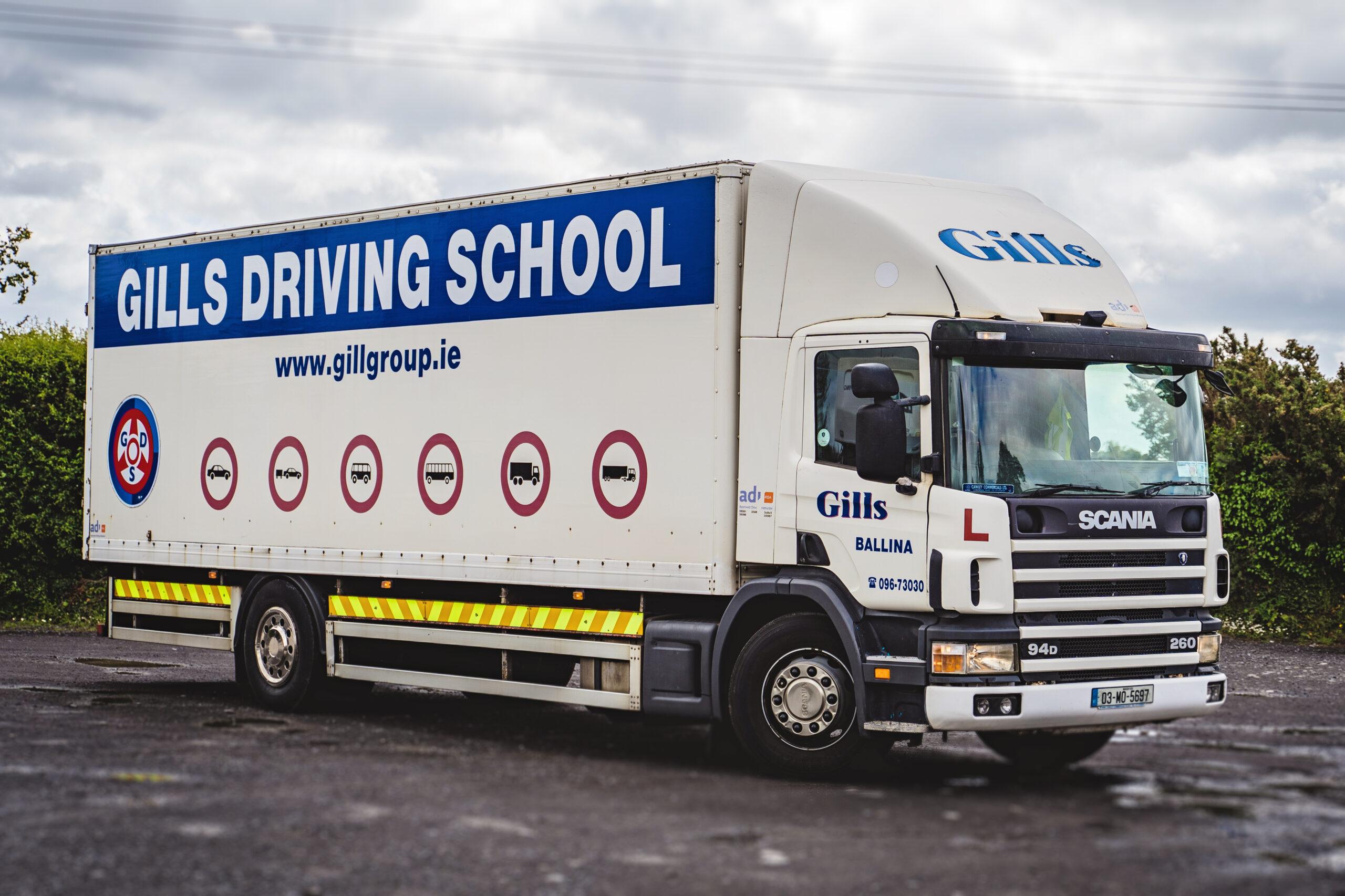Gills Rigid Truck Driving School Ballina Mayo