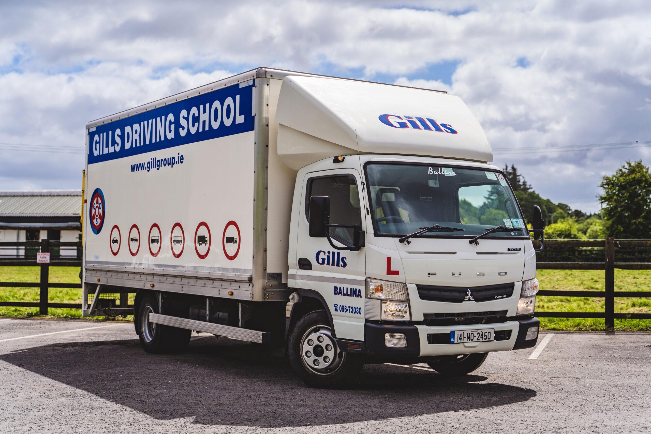 Gills Light Truck Driving School Ballina Mayo